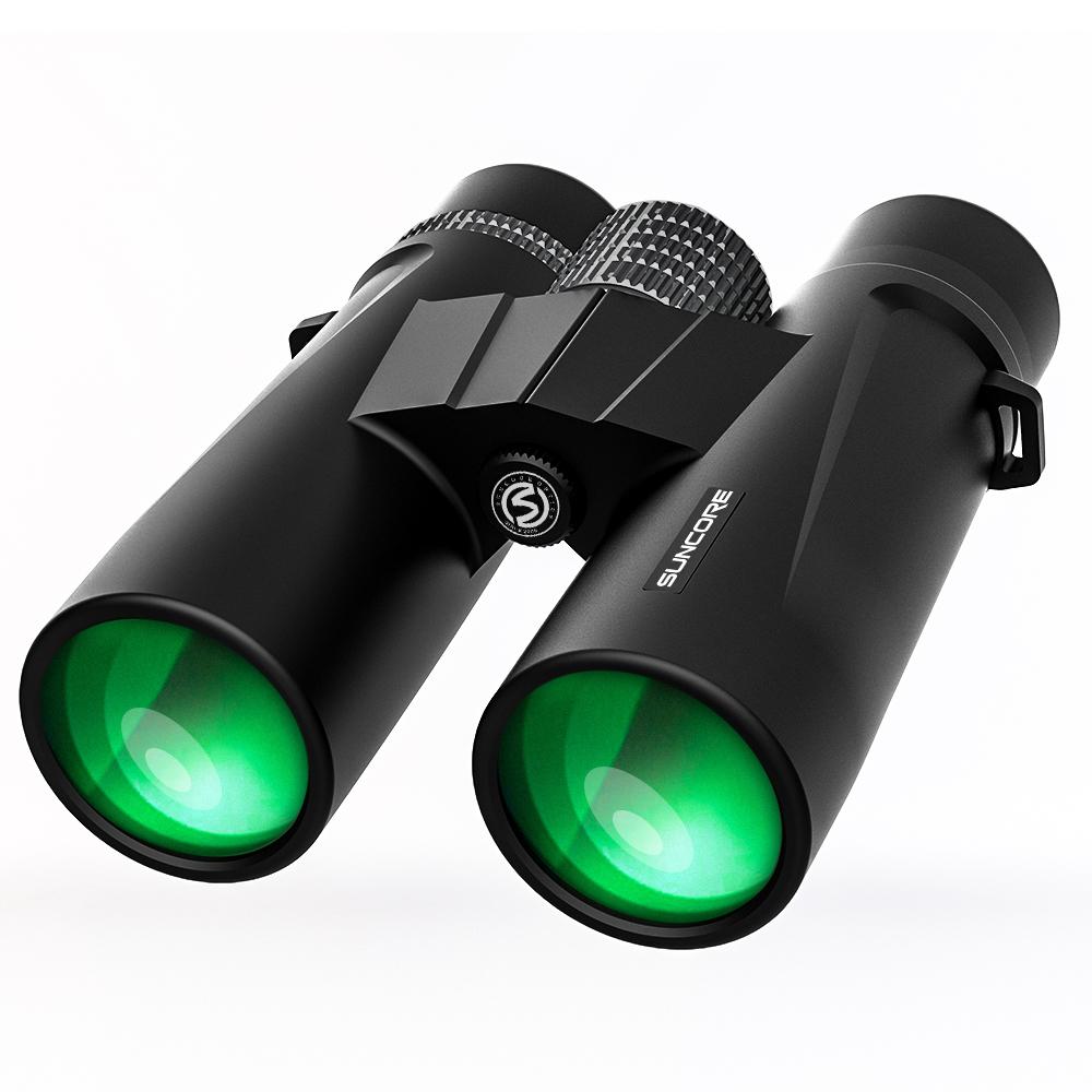 SUNCORE舜光海狮10X42/8X42 双筒望远镜充氮防水高倍高清微光夜视