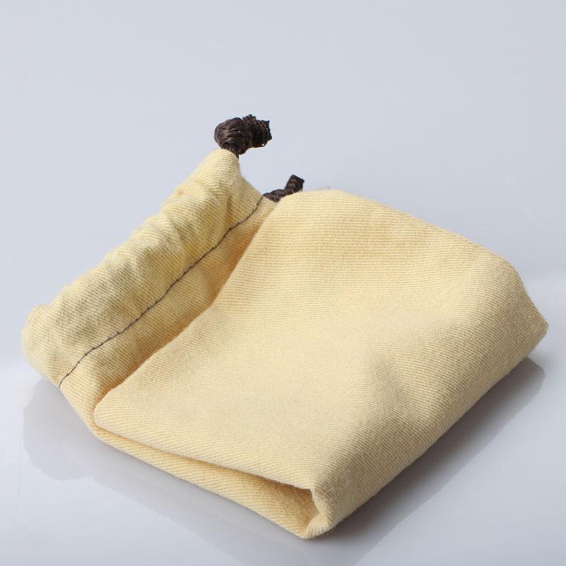 单绳麻布产品收纳袋